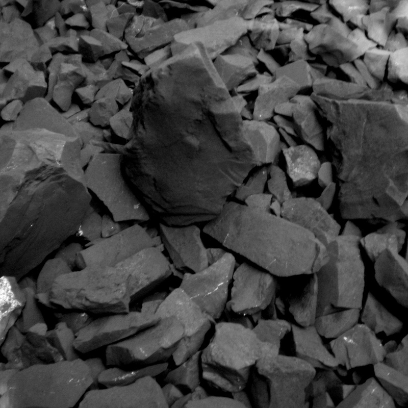 Picture showing a pile of Shungite