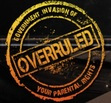 Logo for the Overruled Movie. Documentary on the degradation of parental rights.